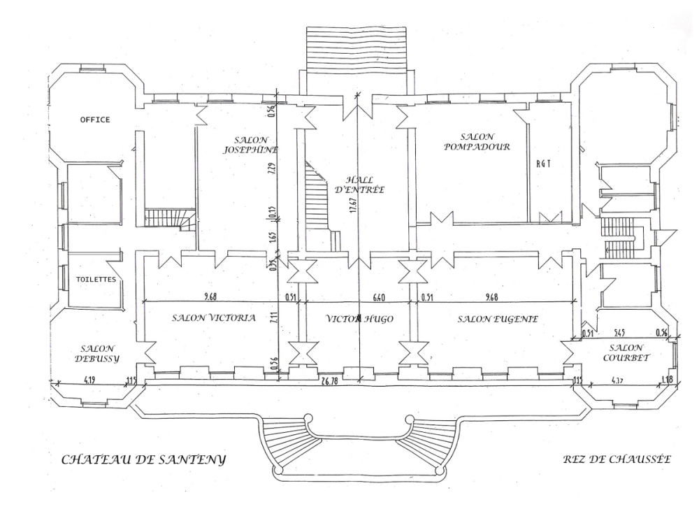 Plan du ch teaux for Conception de plans de manoir